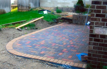 Patio Bricklaying